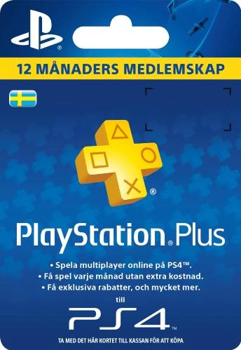 PSN Plus Card 12m Subscription SE