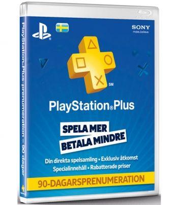 PSN Plus Card 3m Subscription SE