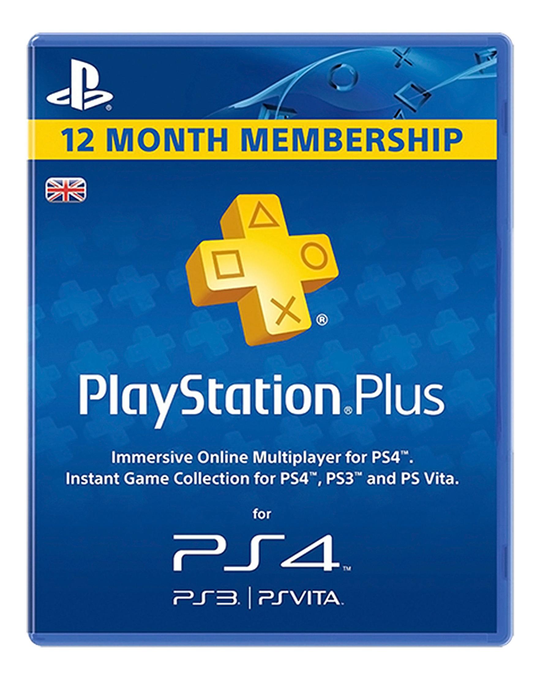 PSN Plus Card 12m Subscription UK