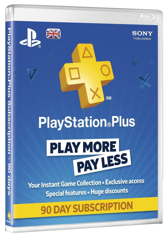 PSN Plus Card 3m Subscription UK